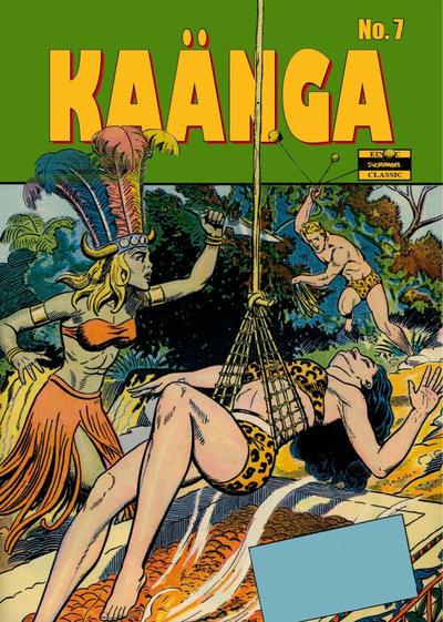 Cover for Kaänga (ilovecomics, 2018 series) #7