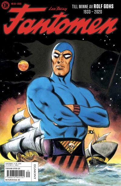 Cover for Fantomen (Egmont, 1997 series) #20/2020