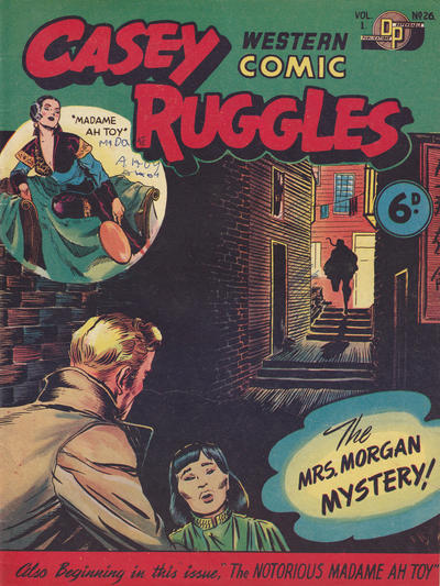 Cover for Casey Ruggles Western Comic (Donald F. Peters, 1951 series) #26
