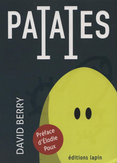 Cover for Patates (Éditions Lapin, 2018 series) #2