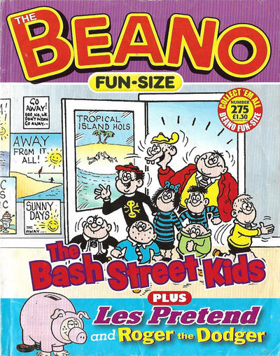 Cover for Fun-Size Beano (D.C. Thomson, 1997 series) #275