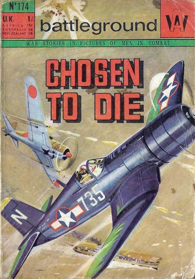 Cover for Battleground (Alex White, 1967 series) #174