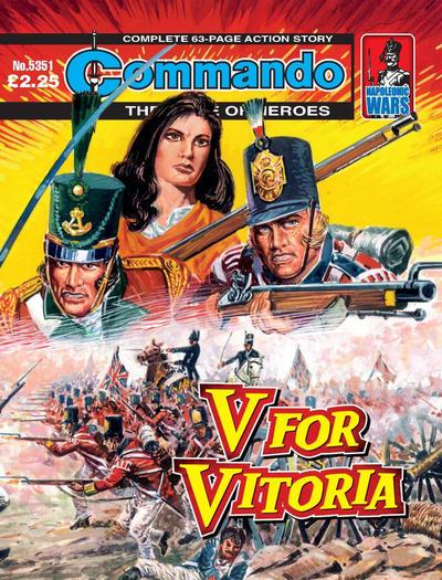 Cover for Commando (D.C. Thomson, 1961 series) #5351