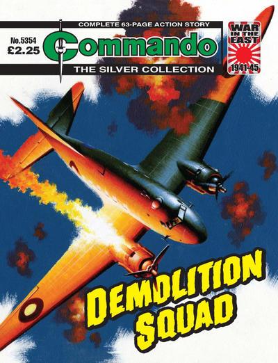 Cover for Commando (D.C. Thomson, 1961 series) #5354