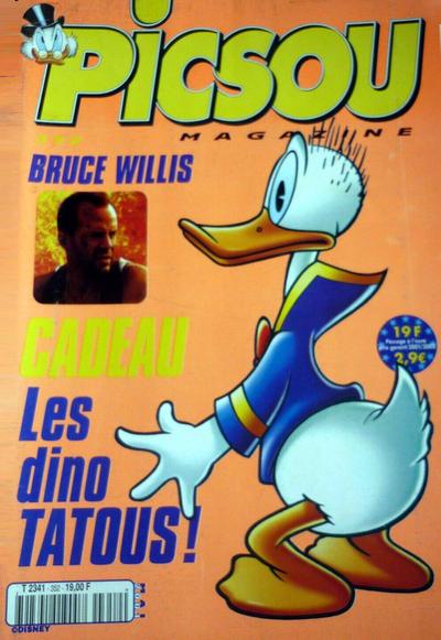 Cover for Picsou Magazine (Disney Hachette Presse, 1972 series) #352