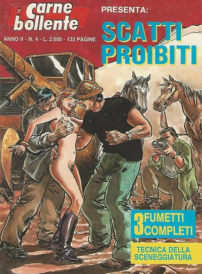 Cover for Carne Bollente (Edizione Produzione Periodici, 1987 series) #v2#4