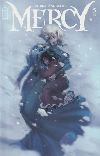 Cover for Mercy (Image, 2020 series) #5