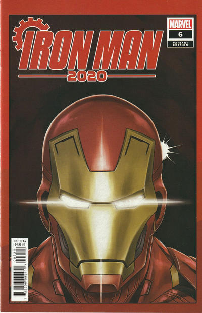 Cover for Iron Man 2020 (Marvel, 2020 series) #6