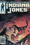 Cover for The Further Adventures of Indiana Jones (Marvel, 1983 series) #14 [Canadian]