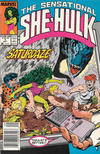 Cover for The Sensational She-Hulk (Marvel, 1989 series) #5 [Newsstand]