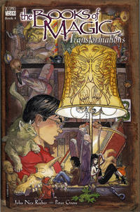 Cover Thumbnail for The Books of Magic (DC, 1995 series) #4 - Transformations [First Printing]
