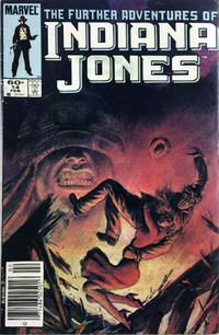 Cover Thumbnail for The Further Adventures of Indiana Jones (Marvel, 1983 series) #14 [Newsstand]