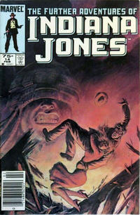 Cover Thumbnail for The Further Adventures of Indiana Jones (Marvel, 1983 series) #14 [Canadian]