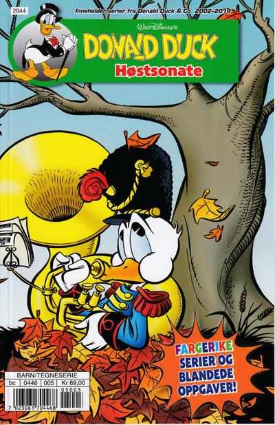 Cover for Donald Ducks Show (Hjemmet / Egmont, 1957 series) #[211] - Høstsonate