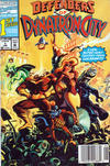 Cover for Defenders of Dynatron City (Marvel, 1992 series) #1 [Newsstand]