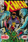 Cover Thumbnail for The X-Men (1963 series) #57 [British]