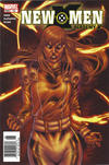 Cover for New X-Men (Marvel, 2004 series) #12 [Newsstand Edition]