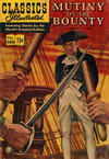 Cover for Classics Illustrated (Gilberton, 1947 series) #100 [HRN 142] - Mutiny on the Bounty