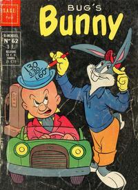 Cover Thumbnail for Bugs Bunny (Sage - Sagédition, 1962 series) #62