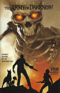 Cover Thumbnail for Death to the Army of Darkness (Dynamite Entertainment, 2020 series) #4 [Cover A Ben Oliver]