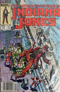 Cover Thumbnail for The Further Adventures of Indiana Jones (Marvel, 1983 series) #16 [Newsstand]