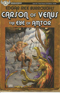 Cover Thumbnail for Carson of Venus: The Eye of Amtor (American Mythology Productions, 2020 series) #2 [Pulp Classic LTD Edition]