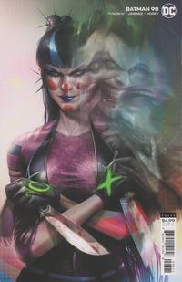 Cover Thumbnail for Batman (DC, 2016 series) #98 [Francesco Mattina Cardstock Variant Cover]