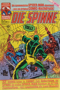 Cover Thumbnail for Die Spinne (Condor, 1987 series) #13