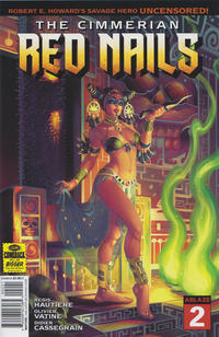 Cover Thumbnail for The Cimmerian: Red Nails (Ablaze Publishing, 2020 series) #2 [Cover B]