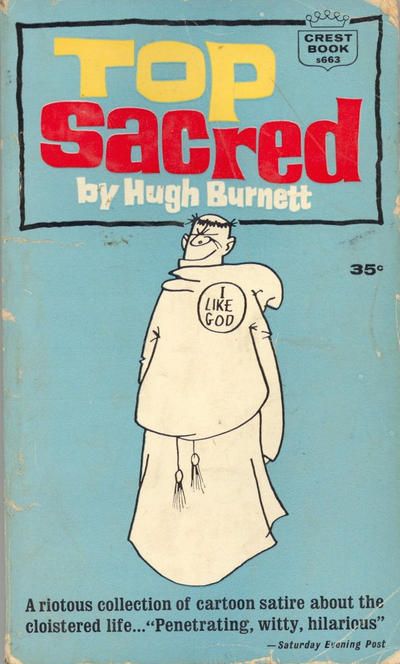 Cover for Top Sacred (Crest Books, 1963 series) #s663