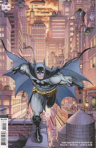 Cover for The Batman's Grave (DC, 2019 series) #10 [Art Adams Cardstock Variant Cover]