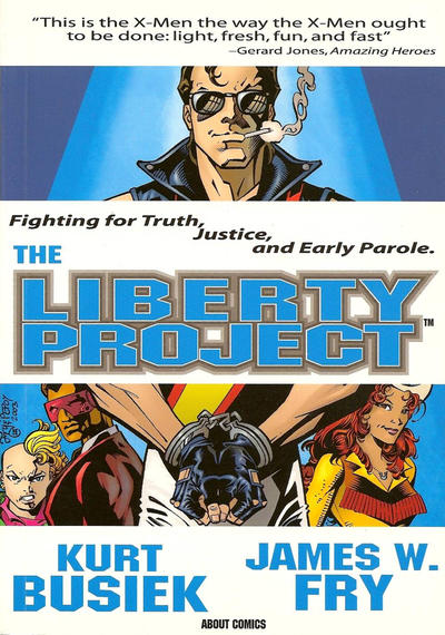Cover for The Liberty Project (About Comics, 2003 series) #[nn]