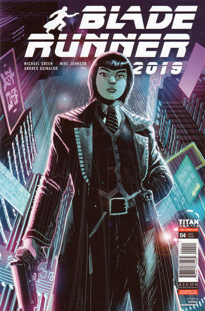 Cover for Blade Runner 2019 (Titan, 2019 series) #4 [Cover A]