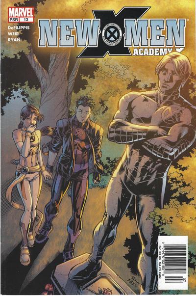 Cover for New X-Men (Marvel, 2004 series) #13