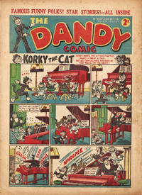 Cover Thumbnail for The Dandy Comic (D.C. Thomson, 1937 series) #165