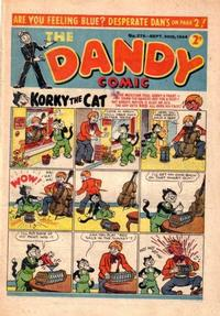 Cover Thumbnail for The Dandy Comic (D.C. Thomson, 1937 series) #276