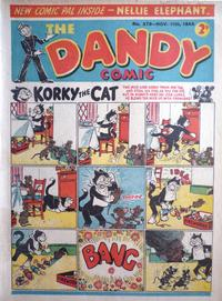 Cover Thumbnail for The Dandy Comic (D.C. Thomson, 1937 series) #279