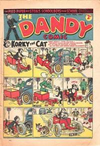 Cover Thumbnail for The Dandy Comic (D.C. Thomson, 1937 series) #343