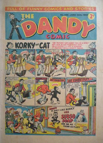 Cover for The Dandy Comic (D.C. Thomson, 1937 series) #269