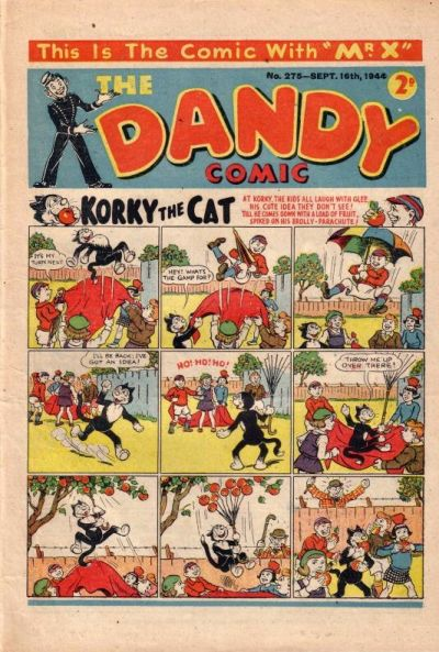 Cover for The Dandy Comic (D.C. Thomson, 1937 series) #275