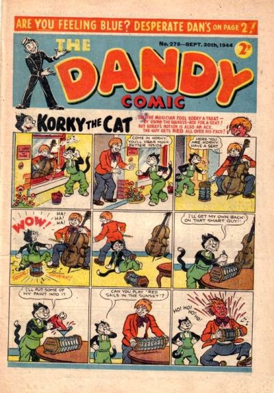 Cover for The Dandy Comic (D.C. Thomson, 1937 series) #276