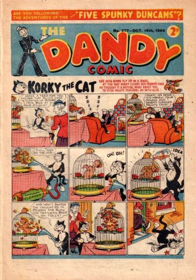 Cover for The Dandy Comic (D.C. Thomson, 1937 series) #277