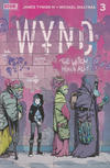 Cover for Wynd (Boom! Studios, 2020 series) #3 [2nd Printing - Michael Dialynas]
