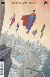 Cover Thumbnail for Legion of Super-Heroes (DC, 2020 series) #9 [André Lima Araújo Cover]