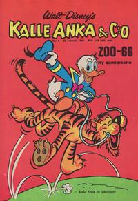 Cover Thumbnail for Kalle Anka & C:o (Hemmets Journal, 1957 series) #4/1966
