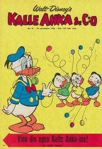 Cover Thumbnail for Kalle Anka & C:o (Hemmets Journal, 1957 series) #47/1966