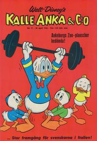 Cover Thumbnail for Kalle Anka & C:o (Hemmets Journal, 1957 series) #17/1966