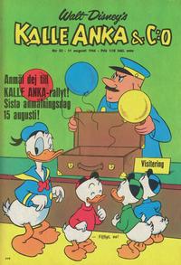 Cover Thumbnail for Kalle Anka & C:o (Hemmets Journal, 1957 series) #32/1966