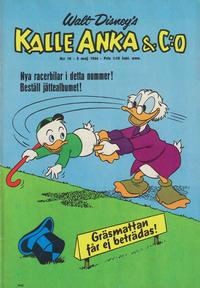 Cover Thumbnail for Kalle Anka & C:o (Hemmets Journal, 1957 series) #18/1966