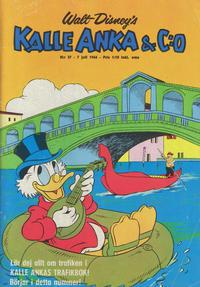 Cover Thumbnail for Kalle Anka & C:o (Hemmets Journal, 1957 series) #27/1966
